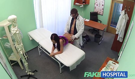 Large black Boobs Granny gorgeous penis of the patient pump animation